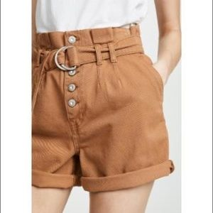 Free People Paperbag High Waisted short